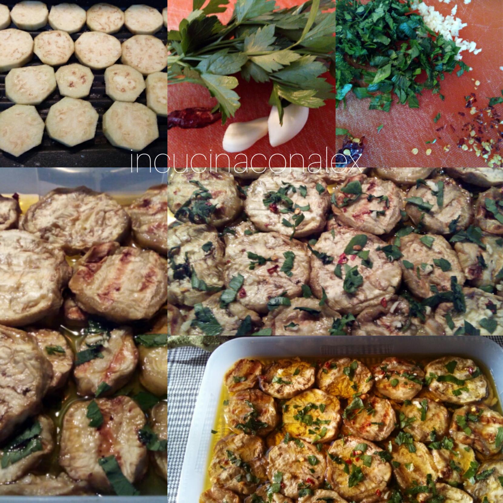 Come preparare le melanzane grigliate marinate