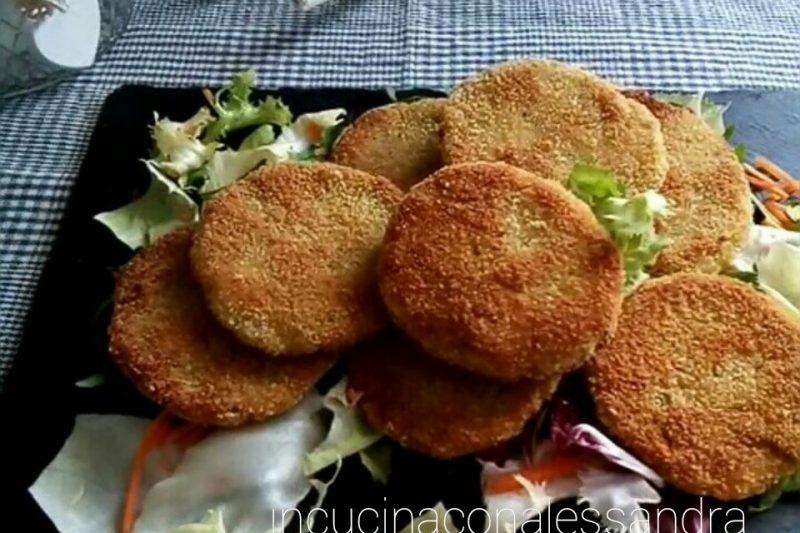 Burger vegetariani fatti in casa. Senza glutine