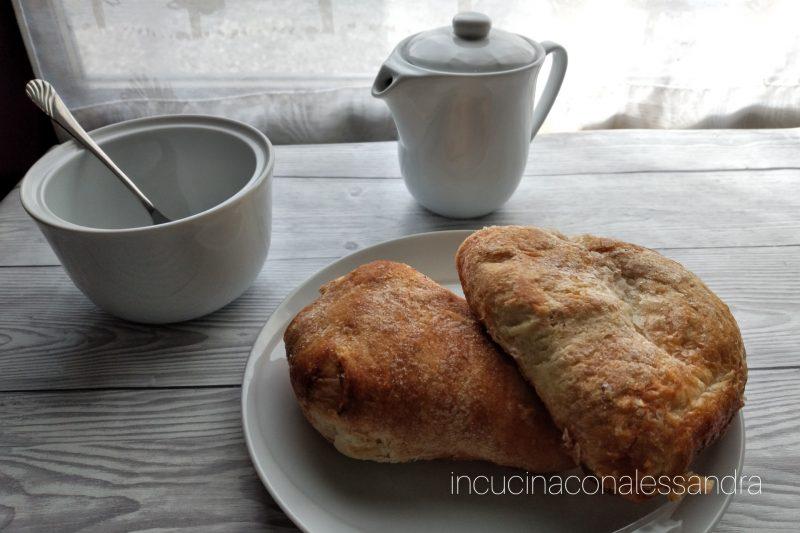 Sfoglie di riso e crema