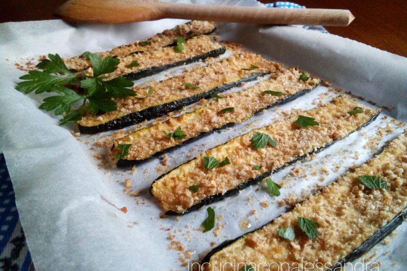 Zucchine gratinate alle mandorle