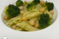 Penne in crema di Ceci e Broccoli