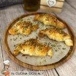 Croissant Salati Furbi – Mortadella, Gorgonzola e granella di Pistacchio