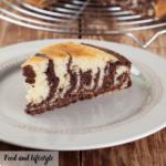Torta Zebrata Arancia e Cioccolato