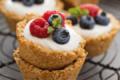 Cestini di Avena yogurt e frutta