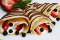 Crepes ai frutti di bosco fit