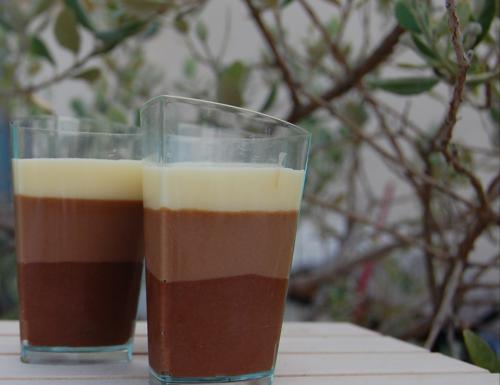 Bicchierini ai 3 cioccolati