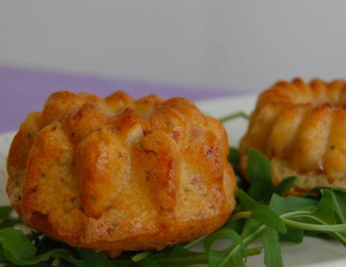 Muffin rustici ai semi di papavero