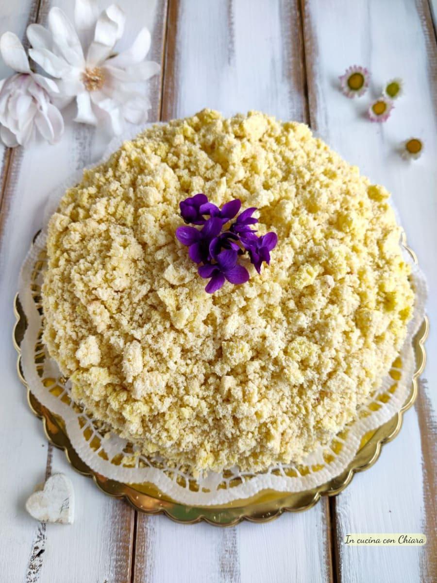 torta mimosa senza latte e burro