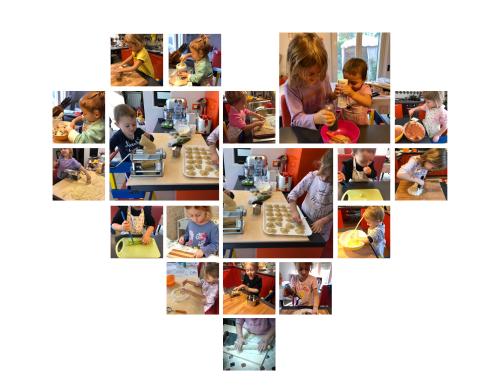 Bambini in cucina!