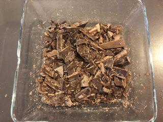 cioccolato fondente cioccolata calda fatta in casa