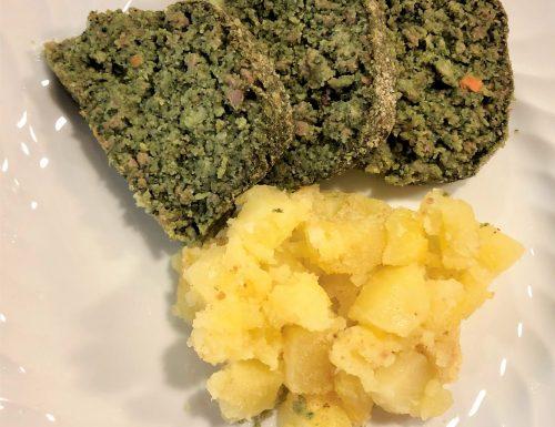 Polpettone svuota-frigo con spinaci (senza uova)