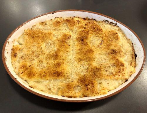 Cavolfiore al formaggio al forno