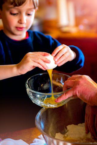 Cucinare con i bambini istruzioni per l'uso