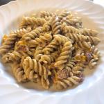 pasta mais e pancetta