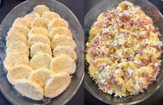 Gnocci semolino mozzarella prosciutto (4)
