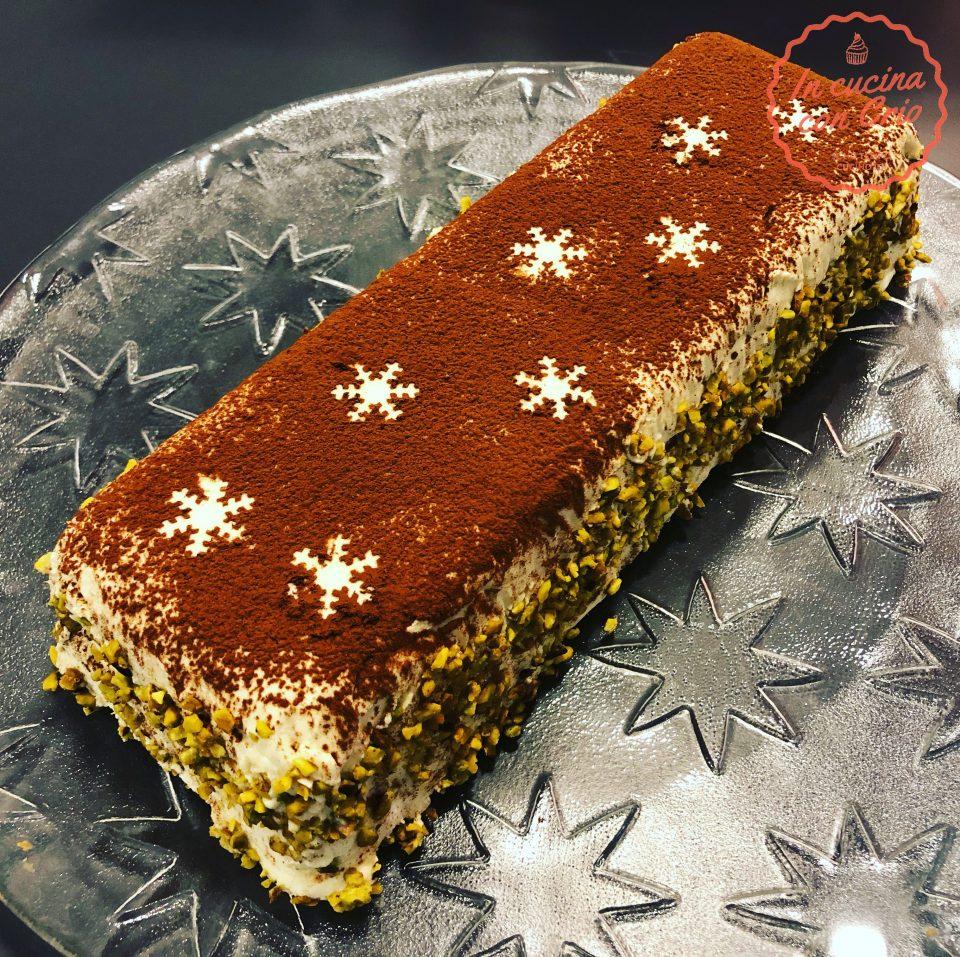 semifreddo pistacchio e cremoso al cioccolato