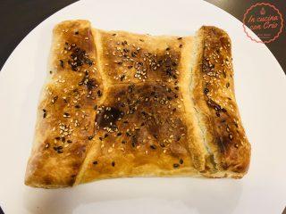 Merluzzo e spinaci in crosta