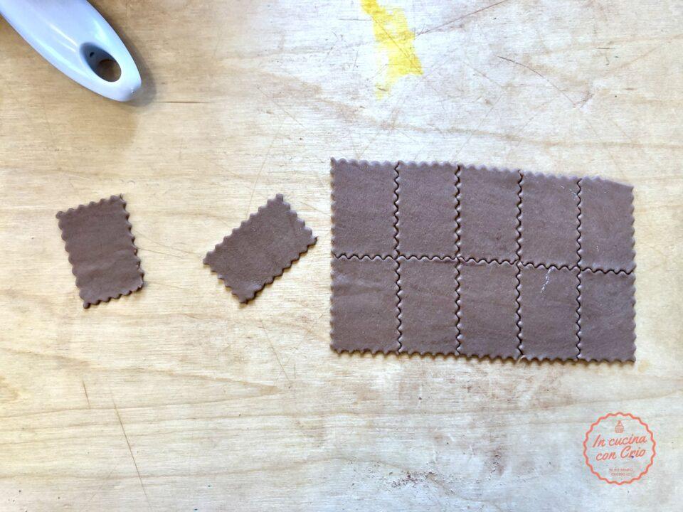 pasta di semola al cacao