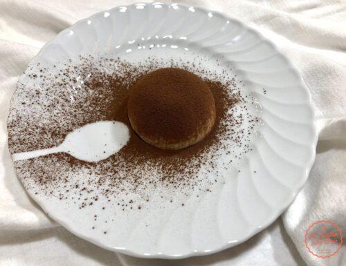 Semifreddo al caffè con cuore al cioccolato