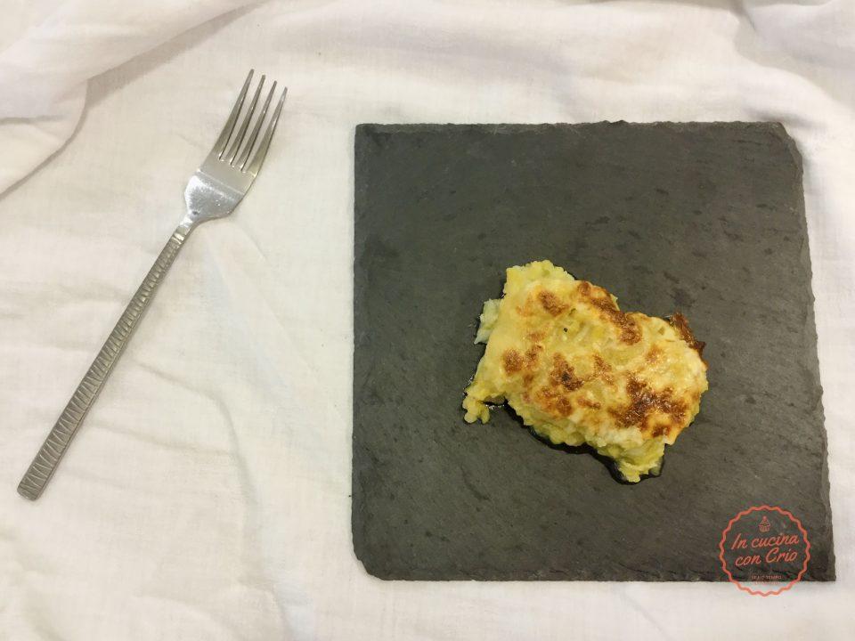verza patate e porri al forno