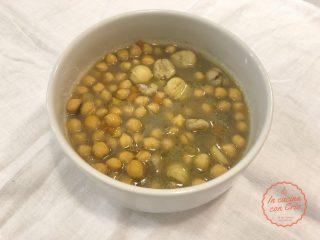 Zuppa ceci e castagne