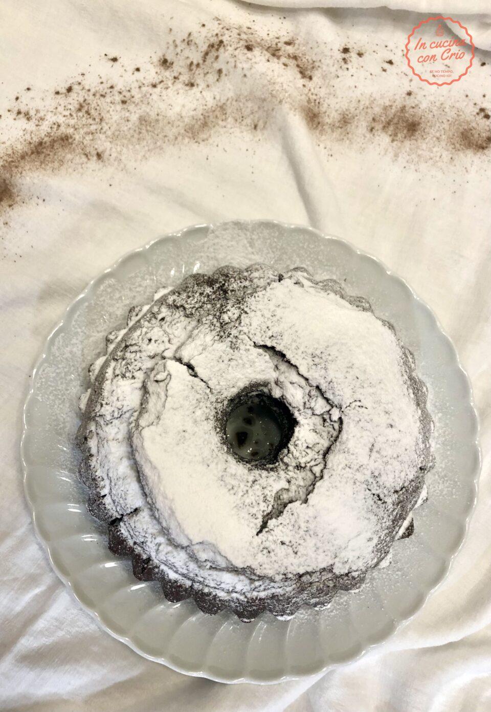 ciambellone al nesquik senza burro ricetta