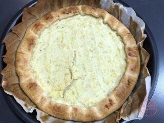 torta salata ricotta patate porri
