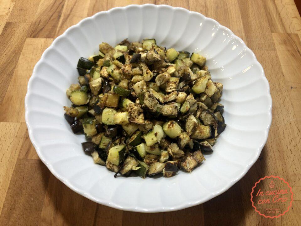 melanzane zucchine veloci al forno