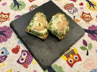 crostini zucchine mozzarella facili e veloci