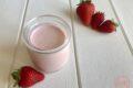 Yogurt alla fragola fatto in casa
