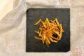 Bastoncini di carote in friggitrice ad aria