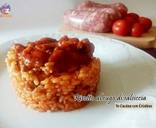 Primi piatti, Risotto al sugo di salsiccia