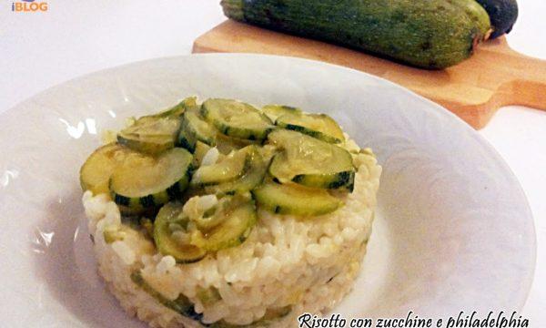 Primi piatti, Risotto alle zucchine e philadelphia