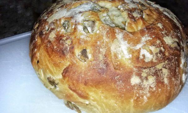 Ricetta pane con olive
