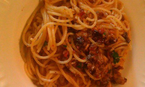 Spaghetti Col Merluzzo Saporiti