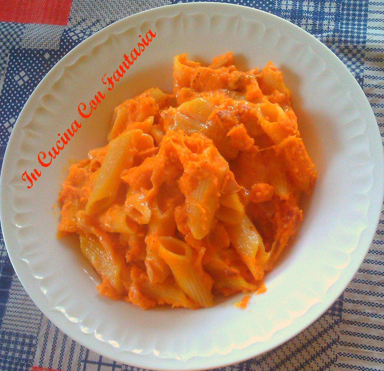 Pennette Con La Zucca Al Forno 1