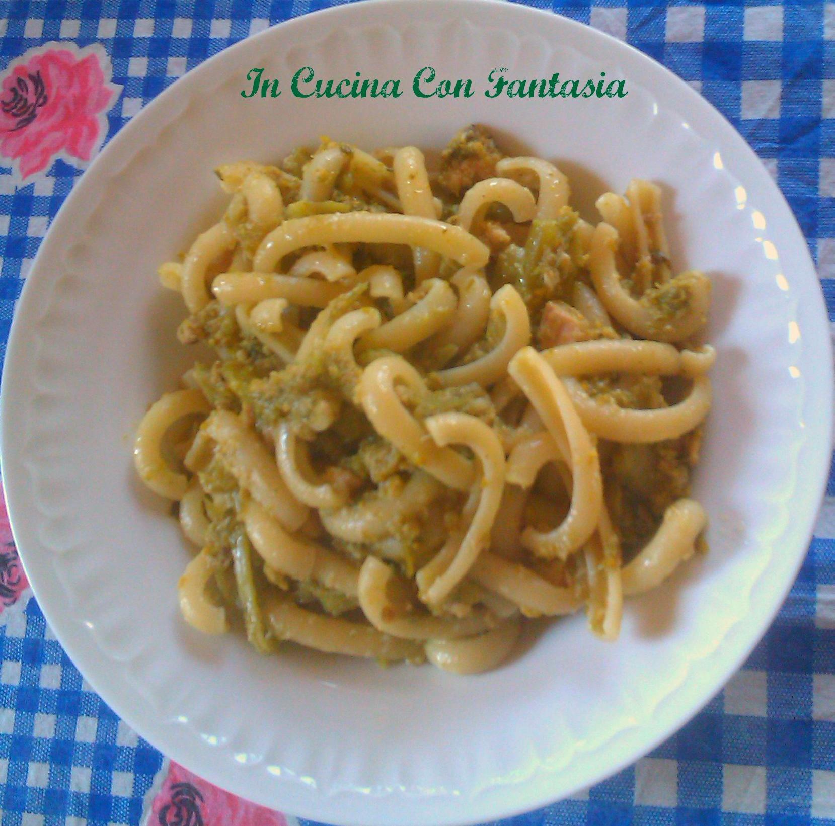Spaccarelle con broccoli e tonno 1