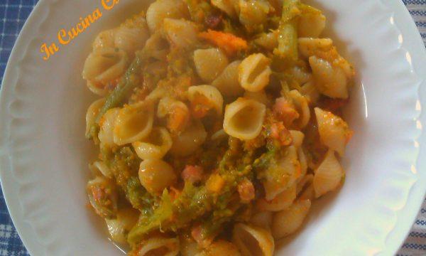 Conchiglie Con Zucca E Broccoli