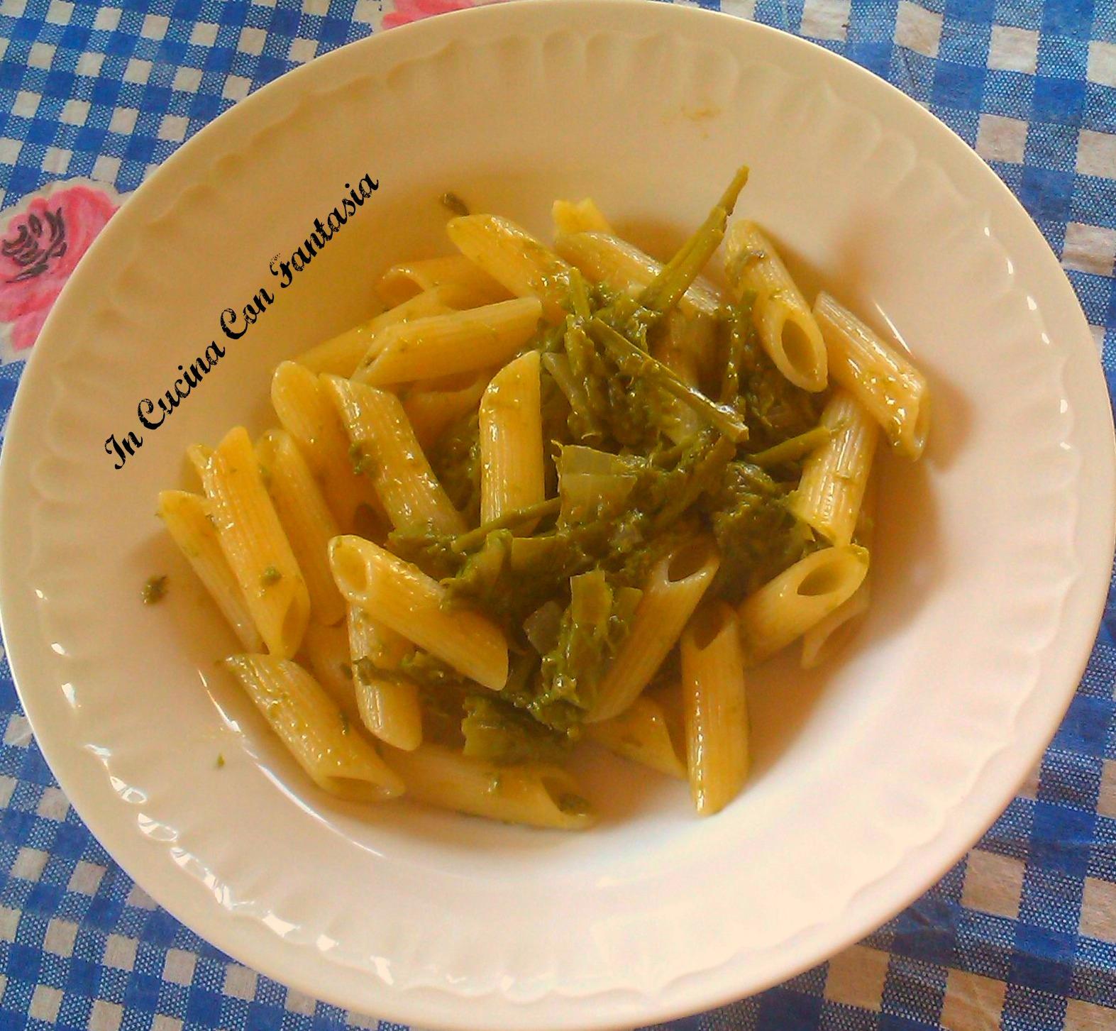 pennette con asparagi 1