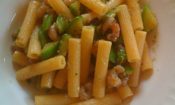 Sedanini Gamberetti E Zucchine