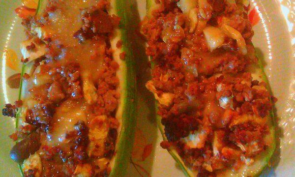 Zucchine Ripiene Alla Siciliana