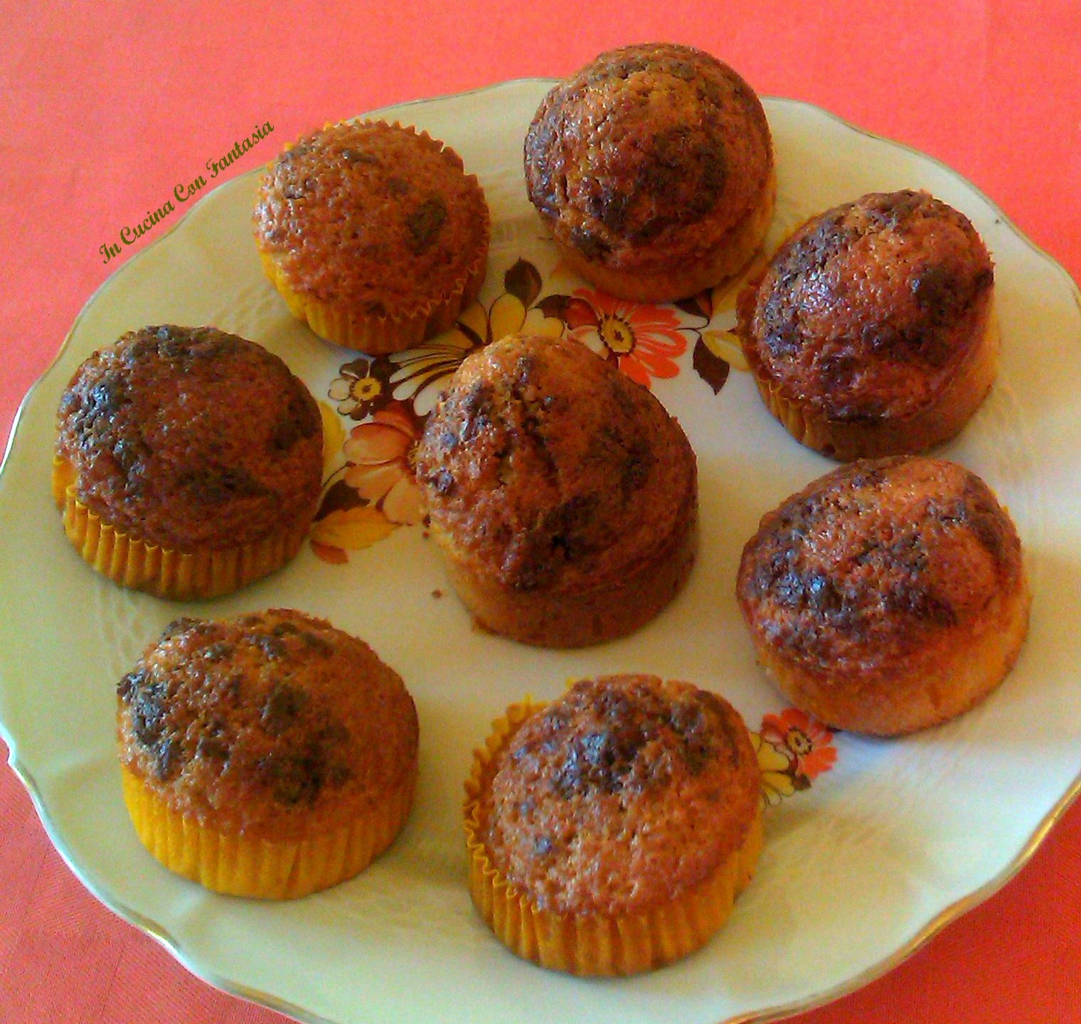 muffin con gocce di cioccolato1