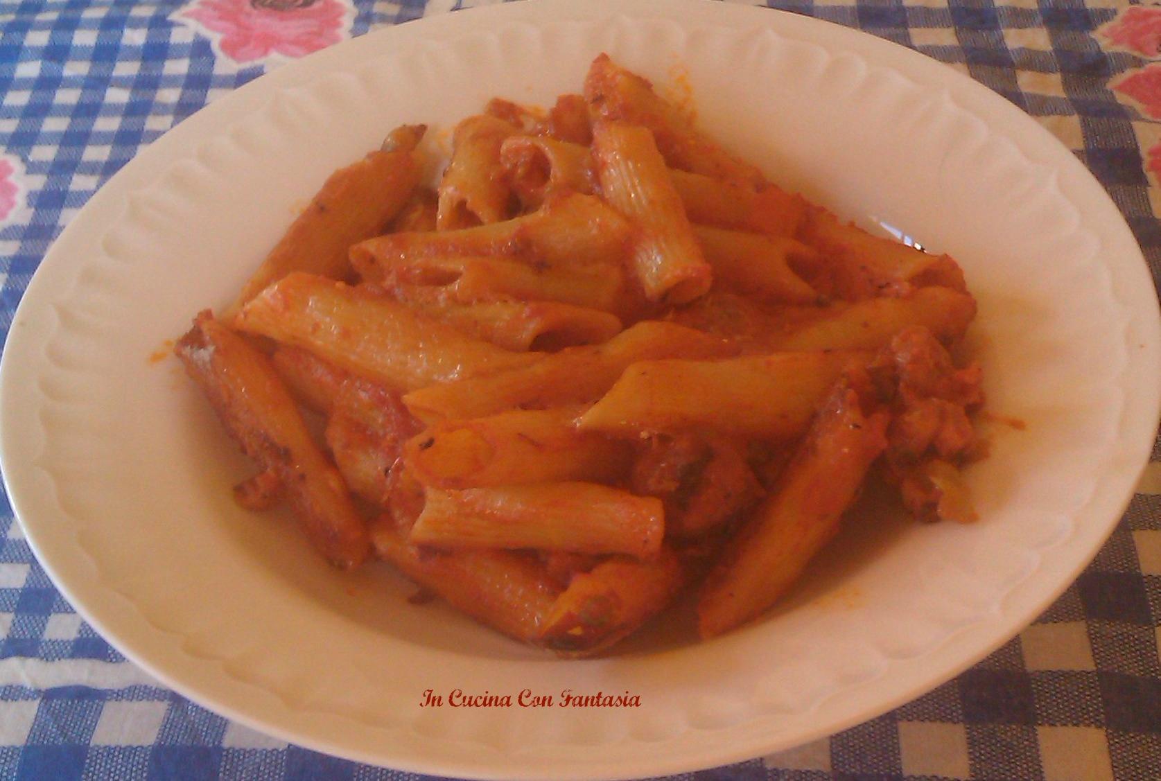 Pasta Al Forno Con Sugo Di Salsiccia1