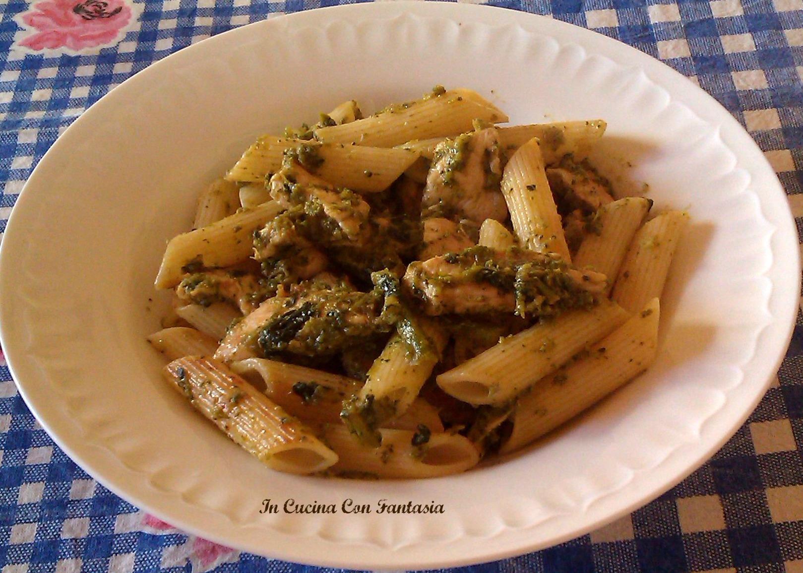 Pennette Con Pollo E Broccoli