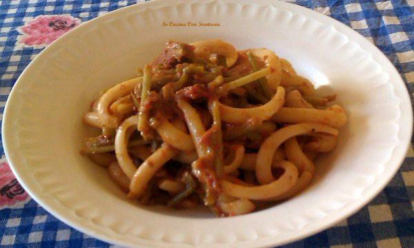Spaccarella Con Asparagi In Salsa