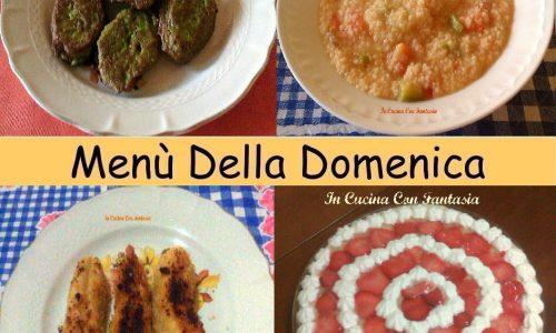 Menù Della Domenica