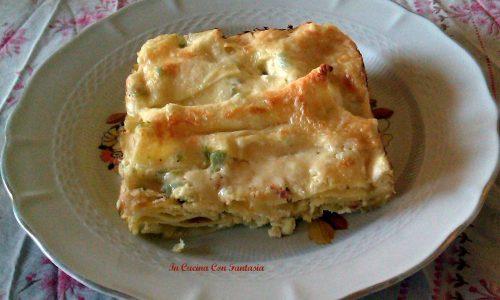 Lasagne Con Crema Di Ricotta E Zucchina