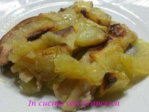 Pesce bandiera in crosta di patate