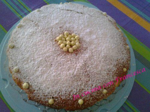 Torta cocco,menta orzata