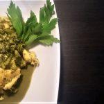 Tocchetti di pollo e broccoletti
